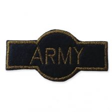 NAVY ARMY BADGE MOTIF IRON ON EMBROIDERED PATCH APPLIQUE